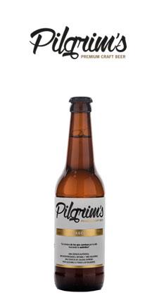 Cerveza premium artesanal pilgrim's